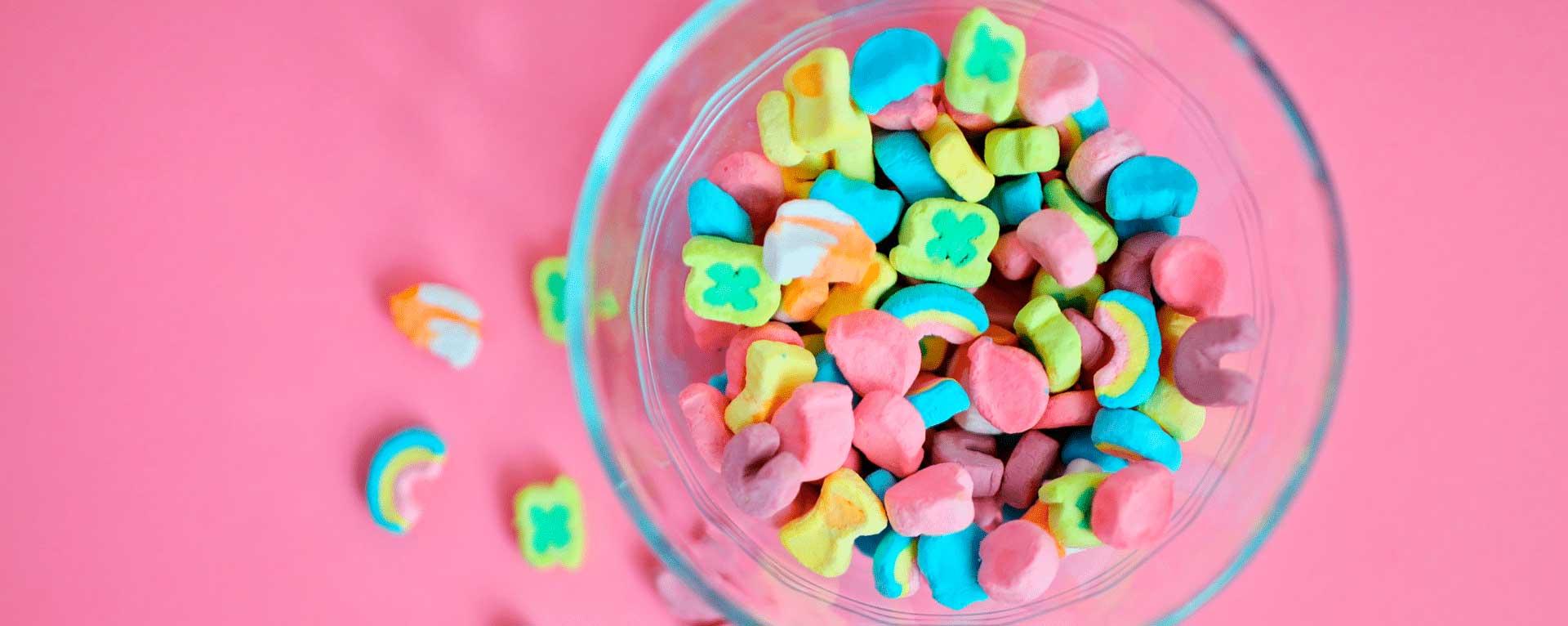dulces reducidos en calorías