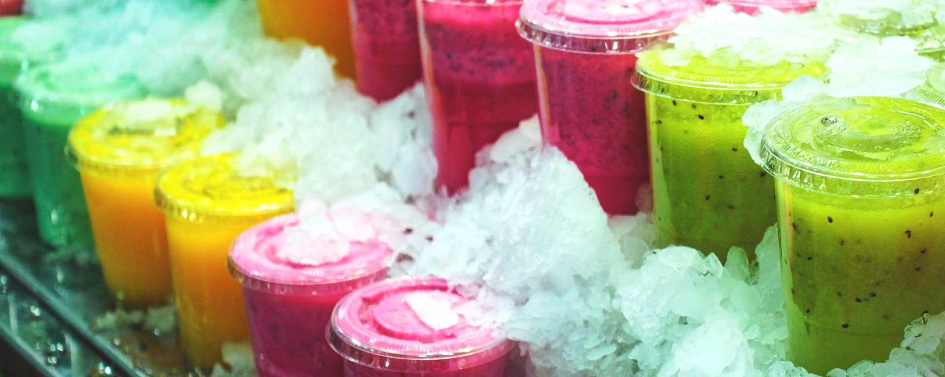 5 tendencias en bebida a base de frutas