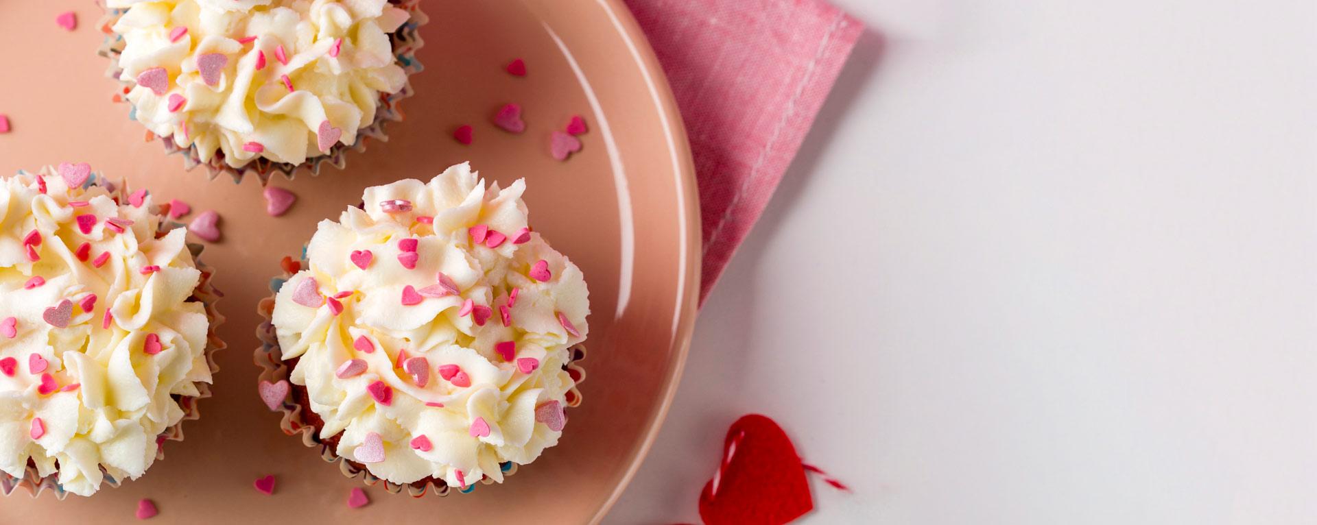 varios pasteles con ingredientes innovadores