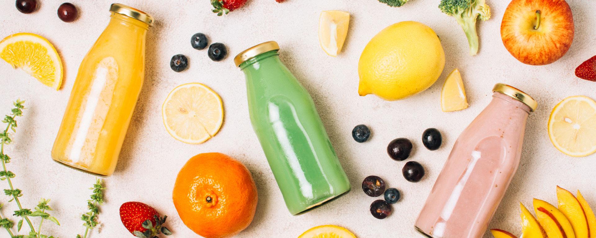 bebidas a base de frutas y concentrados