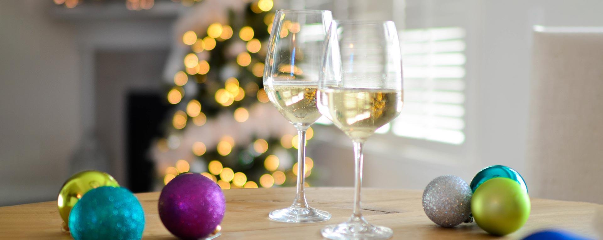 copa de vino espumoso
